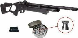 Hatsan Flash Qe Énergie Tranquille. 22 Pcp Air Rifle Avec 250 Pellets Et W4u Cloth