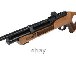Hatsan Flash Wood Qe Hardwood Stock Air Rifle With Pack Of Pellets Bundle