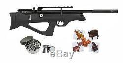 Hatsan Flashpup Qe. 22 Cal Carabine À Air Comprimé Avec Le Pack De Bundle Pellets Et Cibles