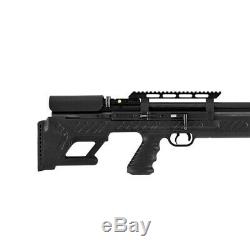 Hatsan Hgbullboss-22 Bullboss. 22 Calibre Carabine À Air Comprimé Avec Silencieux Énergie, Noir
