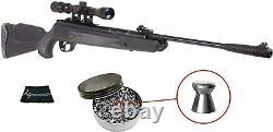 Hatsan Mod 125 Combo Vortex. 22 Cal Air Rifle Avec 250 Pellets Et W4u Cloth