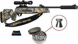Hatsan Mod 125 Sniper Camo Vortex Qe. Fusil À Air Comprimé De Calibre 22 Avec Paquet Inclus