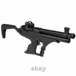 Hatsan Sortie Tact Semi-auto Pcp Pistolet À Air Comprimé. 22cal, 700fps Noir Hgsorttact-22