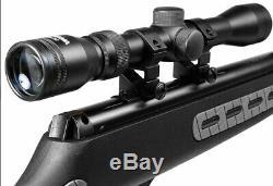 Hatsan Striker. 177 Cal. 1000 Fps Noir Carabine À Air Comprimé Avec Scope 3-9x32mm
