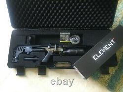 Impact Fx M3 Bronze Compact. 25 Calibre Pc Airgun Rifle Avec Élément Optique Portée
