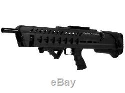 Kral Puncher Armure Pcp Carabine À Air Comprimé Noir 0.22 Cal Bundle Avec Free Riton Scope