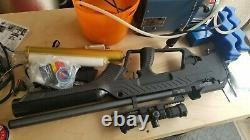 Maître Taureau Hatsan. 22 Calibre Airgun Noir