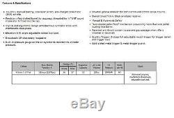 New Hatsan At44s-10 Long Quiet Énergie. 177 Calibre Pcp Carabine À Air Comprimé Hgat44s10l177qe