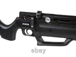 New Seneca Aspen Pcp Air Rifle Par Seneca. 25 Calibre Rouge Libre / Green Dot Sight