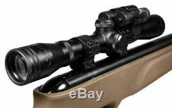 Nouveau Gamo Varmint Hunter Hp. Carabine À Air Comprimé De Calibre 177 Avec Lunette De Visée, Laser Et Lumière