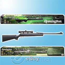 Nouveau Synthétique Remington Express. Carabine À Air Comprimé De Calibre 22 Avec Lunette De Visée 4x32