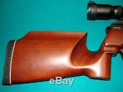 Pcp Sur Mesure. 22 &. 177 Pellet Carabine À Air Comprimé + 2 Bouteille, 2 Mags, Modérateur Et Portée