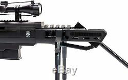 Puissance De Piston. 177 Cal. Pellet Pause Canon Sniper Gun Carabine À Air Comprimé W \ 4x32 Portée