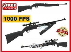 Puissant Varmint Pest Fusil De Chasse 1000 F Pompe D'action Carabine Bb Pellets Air Gun