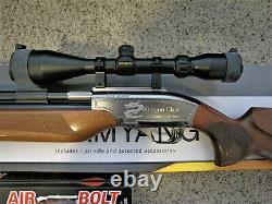 Rifle D'air Pcp 50cal De Dragon Claw 50cal Avec Portée Truglo Et 6 Nouveaux Boulons D'air, Ainsi Que Acs