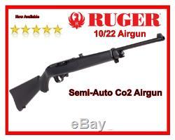 Ruger 10 / 22,177 Carabine À Air Comprimé Semi Auto 10 Magazine Tir, Fusil De Co2, Tout Neuf