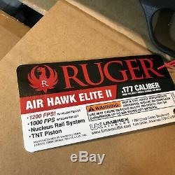 Ruger Air Hawk Elite II 2,177 Cal Granules Pistolet À Air Fusil 4x32 Portée 1200 Fps