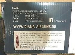 Rws Diana 250.22 Calibre 755 Fps Étendue Du Stock De Bois Inclus 25003205
