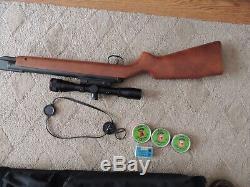 Rws Diana, Carabine À Air Comprimé, Pellet, Modèle 34.177 & Simmons Scope, Case & Ammo