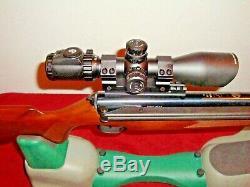Rws Diana Modèle 52,177 Granules Carabine À Air Comprimé Côté Levier Pompe 300 $ Accessoires +++