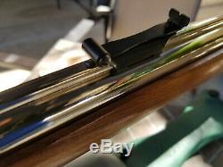 Série Sheridan F9 Carabine À Air Comprimé Silver Streak Co2 Nickel Racine Très Rare Mint