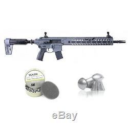Sig Sauer Airgun Virtus Asp. 22 Calibre Fusil De Précision Avec Venom Bundle