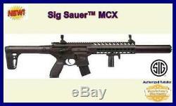 Sig Sauer Mcx. 177 30 Rounds Co2 Powered Semi-automatique Carabine À Air Comprimé Livraison Gratuite