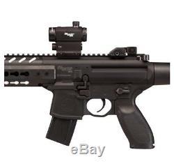 Sig Sauer Mcx. 177 Cal Co2 (30 Powered Rounds) Sig20r Red Dot Carabine À Air Comprimé, Noir