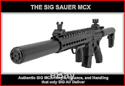 Sig Sauer Mcx. 177 Cal. Rifle- Noir Semi Automatique Tactique Métal Dsbr