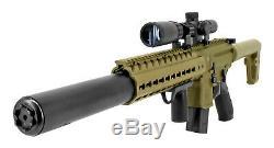 Sig Sauer Mcx. 177 Calibre 30 Tours Semi Automatique Co2 Carabine À Air Comprimé Avec Scope