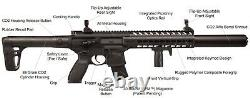 Sig Sauer Mcx. 177 Calibre Co2 Powered 30 Rounds Black Air Rifle