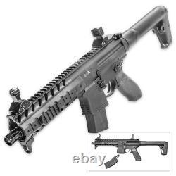 Sig Sauer Mpx. 177 Cal Pellet Co2 Powered Air Rifle 30 Rounds Magazine, Noir