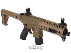 Sig Sauer Mpx. 177 Pistolets De Pistolet À Plombs À Carabine À Air Comprimé, Cal Calé, Co2, Terre Sombre
