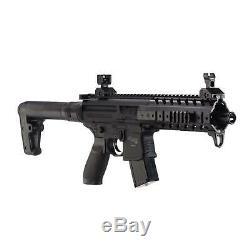 Sig Sauer Mpx. Pistolet À Plombs Pour Carabine À Air Comprimé Rond Avec Calibre 30, Calibre 177, Recalculé
