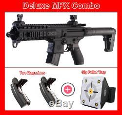 Sig Sauer Mpx Rifle Combo Deluxe, Deux Magazines Et À Granulés Piège