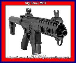 Sig Sauer-air Mpx-177-88g-30-blk Co2 Powered Carabine À Air Comprimé
