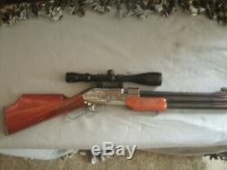 Sumatra 2500 Carabine. 25 Cal / Avec Deux Six Jantes En Aluminium De Tir