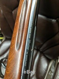 Super Rare Vintage Daisy Model 250 Fabriqué En Écosse Fusil À Pellets De Calibre 22 Rare
