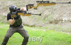 Swiss Arms - Carabine À Air Comprimé Tg-1 Avec Canon, Avec Lunette De Visée Reconditionnée, Portée 1400 Fps, 4x40