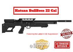 Tout Nouveau Hatsan Bullboss Qe Pcp 22 Cal Air Carabine Sérieuse Puissance. Pdsf 699 Enregistrer