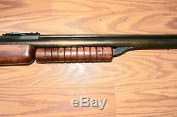 Travail Vintage Benjamin Benjamin Franklin Modèle 342 22 De Carabine À Air Comprimé De Granulés Cal