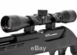 Umarex Fusion Co2 Bolt Action. 177 Cal Granules Carabine À Air Comprimé Silencair Avec 4x32 Scope