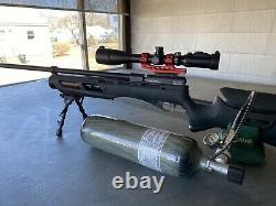 Umarex Gauntlet Pcp 22 Calibre Air Rifle Noir