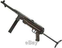 Umarex Legends Mp40 Gen-3 Co2 Full Metal Semi / Full Auto Smg177 Airgun Vitesse De Charge
