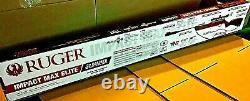Umarex Ruger Impact Max Elite. 22 Cal Pellet Rifle With4x32 Scope, Stock En Bois