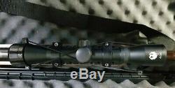 Umarex Ruger Impact Max Elite Carabine À Air Comprimé-22 Cal. 5.5mm Portée With4x32, Strap & Case
