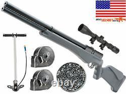 Urax Origine Pcp Rifle Aérien Avec Pomme De Main. 22cal 1075fps + Portée & Pellet
