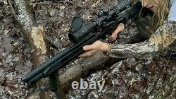 Vente! Vente! Fusil À Air Comprimé. 25pcp Tactical Free Accessorie Cas Gratuit Faire Offre