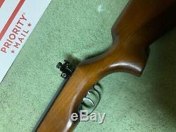 Vintage Beeman A Marqué Hw50s 4.5kal /. 177 Cal Air Riflewithbeeman Peep Vue