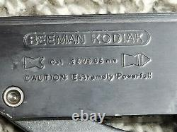 Vintage Beeman Kodiak. 25 Calfil Air Rare Santa Rosa Era, W Cas & Portée